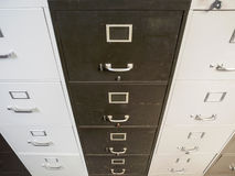 Vintage Funky File Cabinets Royalty Free Stock Image