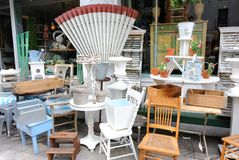 Vintage Furniture Royalty Free Stock Photography