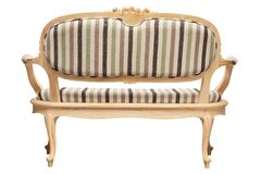 Vintage furniture rear view Royalty Free Stock Images