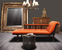Vintage furnitures Stock Images