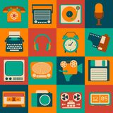 Vintage Gadgets Set Stock Photography