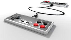Vintage Game Controller Competition Royalty Free Stock Photos