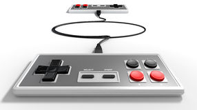 Vintage Game Controller Competition Stock Photo