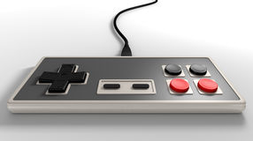 Vintage Gaming Controller Stock Photography
