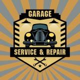 Vintage Garage sign Stock Photography