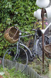 Vintage garden bicycle. ! bicycle!  bicycle Stock Image