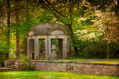 Vintage Garden Gazebo Stock Image