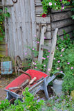 Vintage gardening tools Stock Photography