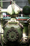 Vintage Gas Compression Cylinder Royalty Free Stock Photography