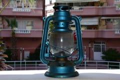 Vintage gas lamp stock photo