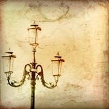 Vintage Gas Light Backround Royalty Free Stock Image