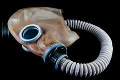 Vintage gas mask . Vintage gas mask on black royalty free stock images