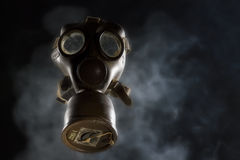 Vintage Gas Mask Isolated. World War II Gas Mask Royalty Free Stock Photography