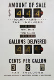 Vintage gas pump Royalty Free Stock Image