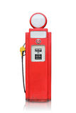 Vintage gas pump isolated Royalty Free Stock Image