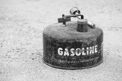 Vintage Gasoline Can Royalty Free Stock Photography