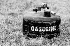 Vintage Gasoline Can Royalty Free Stock Images