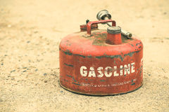 Vintage Gasoline Can Royalty Free Stock Photos