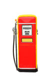 Vintage gasoline fuel pump Stock Photos