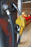Vintage Gasoline fuel pump Stock Photo