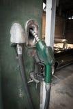 Vintage Gasoline fuel pump Stock Photos