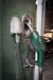 Vintage Gasoline fuel pump Royalty Free Stock Photos