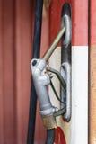 Vintage gasoline meter fuel Stock Image