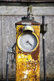 Vintage gasoline pump Stock Photography