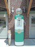 Vintage Gasoline Pump Stock Photos