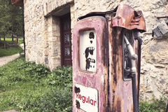 Vintage gasoline pump Stock Image