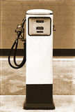 Vintage gasoline pump Stock Photo