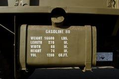 Vintage gasoline tank. Royalty Free Stock Photos