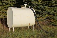 Vintage gasoline tank Stock Image