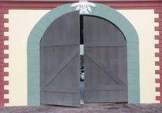 Vintage gate Stock Image