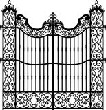 Vintage gate Royalty Free Stock Photography
