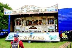 Vintage 1902 Gavioli fair organ. Stock Image