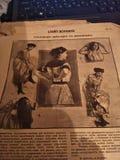 Vintage gazete Stock Image