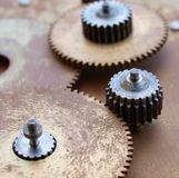 Vintage gear Royalty Free Stock Photo