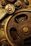 Vintage gears mechanism Stock Photo