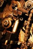 Vintage gears mechanism Stock Photos