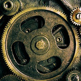 Vintage gears mechanism Stock Image