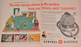 Vintage General Electric Advertisement Stock Image