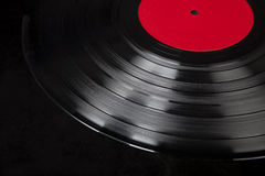 Vintage Generic Vinyl Record Album Royalty Free Stock Photos