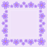 Vintage gentle pink background with bright violets Royalty Free Stock Photos
