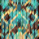 Vintage geometric  disco background. For design covers, posters, packaging Royalty Free Stock Photo
