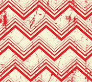 Vintage geometric pattern with dirt texture, vector old Royalty Free Stock Images