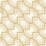 Vintage geometric seamless background, old repeat pattern Royalty Free Stock Image