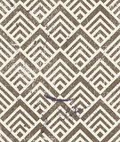 Vintage geometric seamless background, old vector Royalty Free Stock Photo