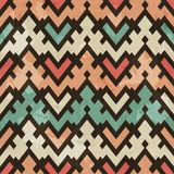 Vintage geometric seamless pattern Stock Image