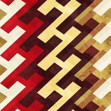 Vintage geometric seamless pattern Stock Photo